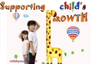 Supporting child's growth